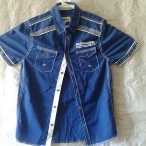 Distillery Apparel S short sleeve shirt(2/$26)